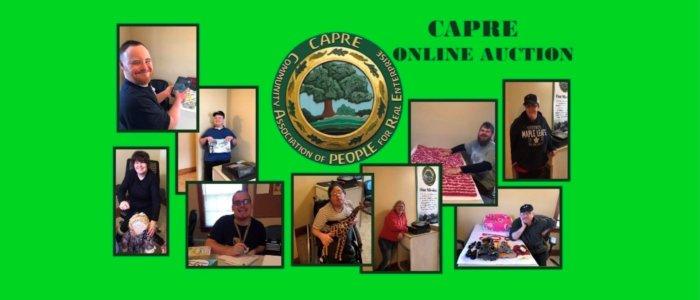 CAPRE Auction banner